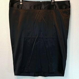 Torrid black pencil skirt